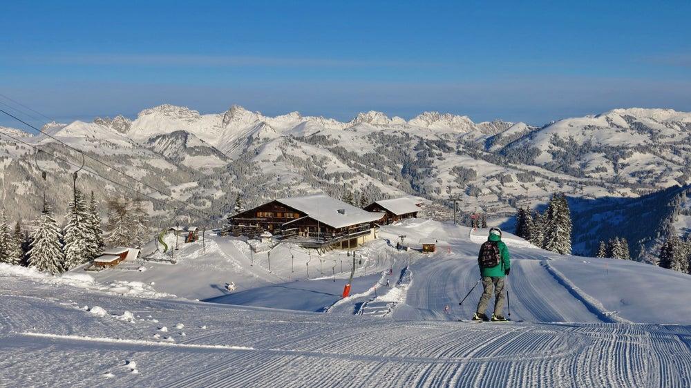 Estación de esquí de Gstaad en Suiza