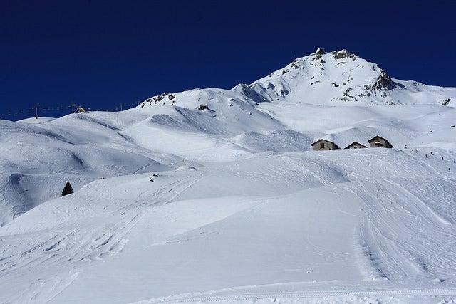 Estación de esquí de Arosa en Suiza