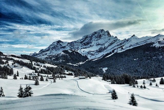 EStación de esquí de Villars en Suiza