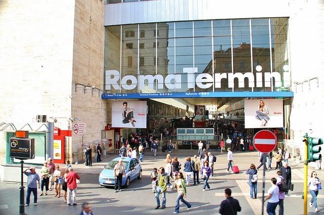 Estación de Termini en Roma