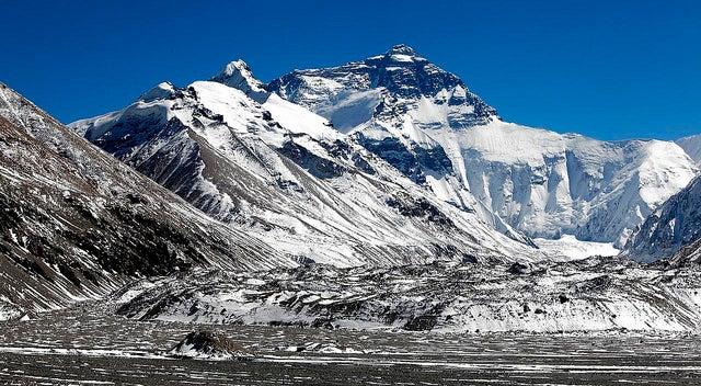 vista del Everest