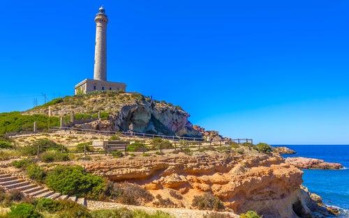 Faro de Cabo de Palos en Murcia