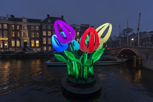 Festival de Luce de Ámsterdam en Navidad