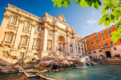 Fuentes de Roma, Fontana di Trevi