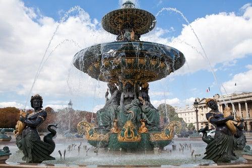 Fuente de la Plaza de la Concordia de París