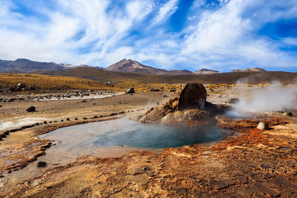 Géiseres de Tatio en San Pedro de Atacama