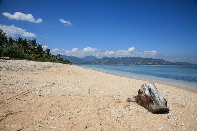 Playa en Gili Air