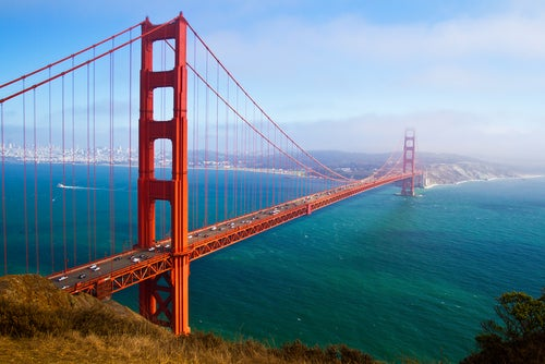 Golden GAte en San Francisco, Costa Oeste EEUU