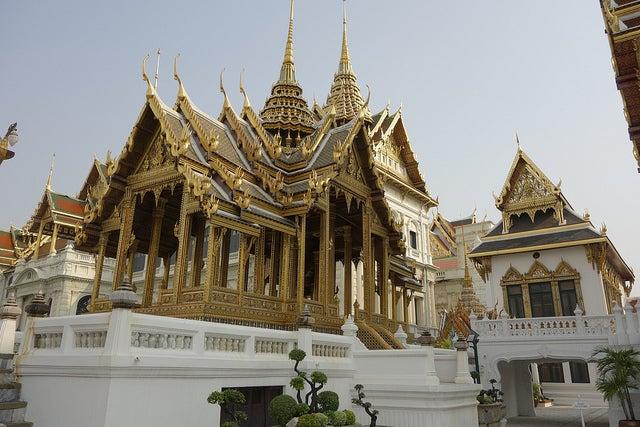 Gran Palacio de Bangkok en Tailandia
