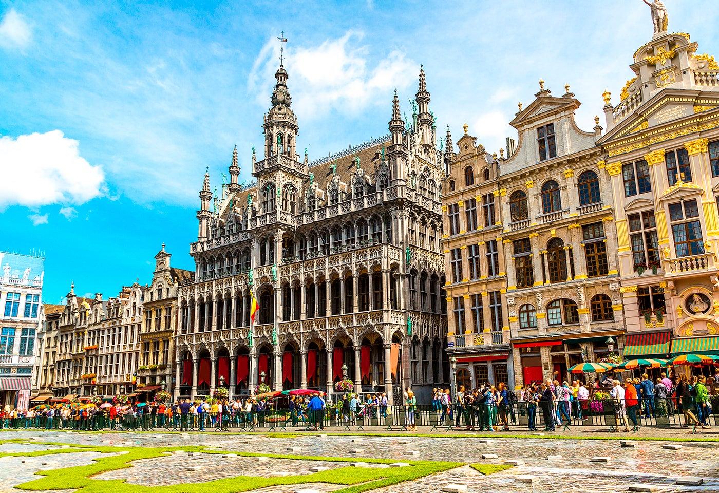 Grand Place, una de las plazas de Europa más bonitas