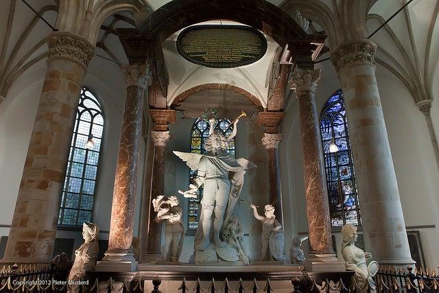 Grote kerk en La Haya
