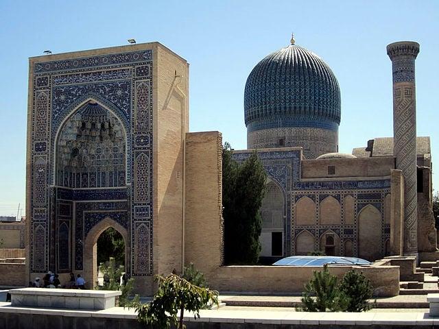 Mausoleo de Gur-e-amir en Samarkanda