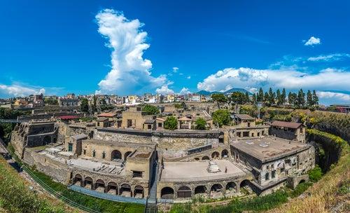 Descubrimos la ciudad romana de Herculano