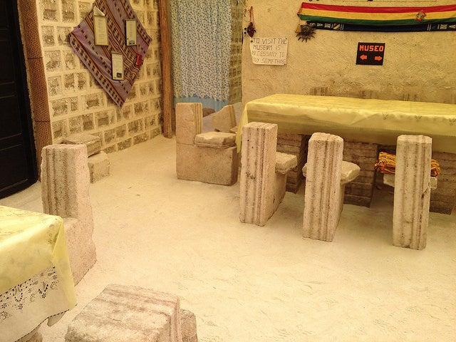 Hotel de sal en Uyuni
