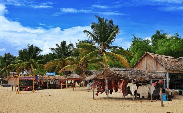 Playa de Ifaty en Madagascar