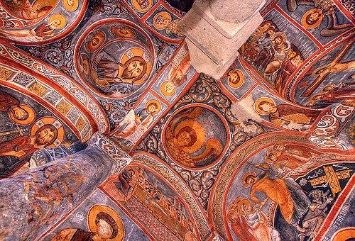 Iglesia en Goreme, Turquía