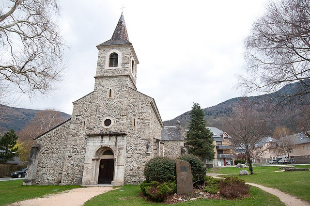 Iglesia de Saint Pierre en Saint Lary