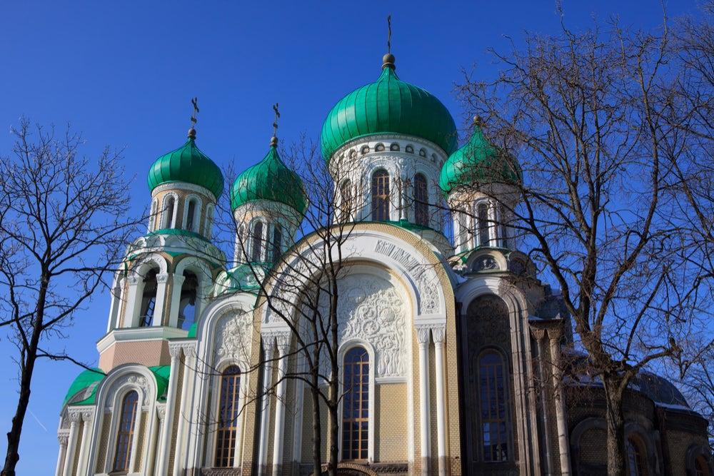 Igalesia de San Constantino en Vilna