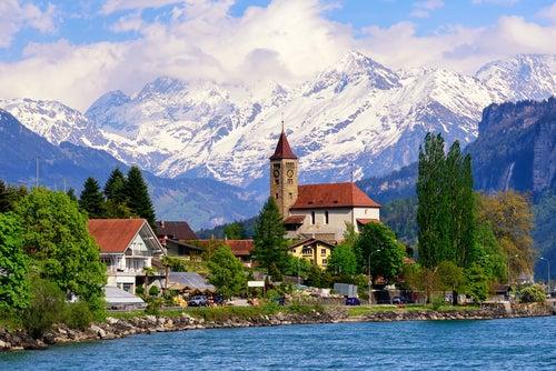 Interlaken en Suiza