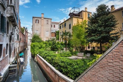 Jardín en Venecia