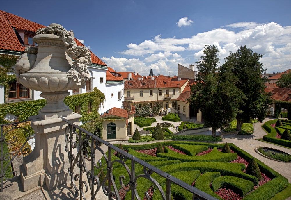 Jardines Vtrbovska en Praga