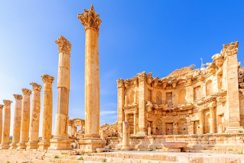 Jerah, luagar para visitar al viajar a Jordania