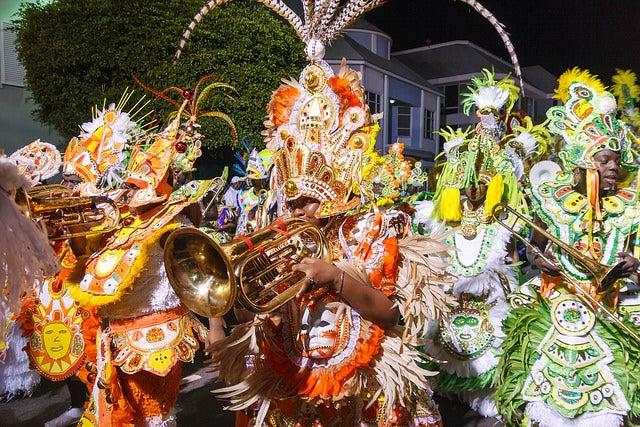 Junkanoo en Bahamas, para vivir una Naviad diferente