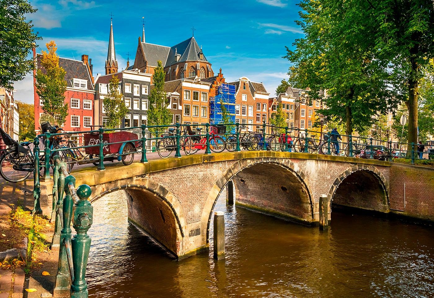 Keizersgracht en Ámsterdam