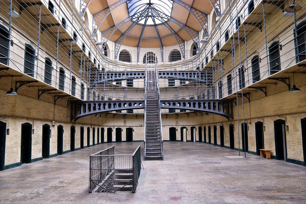 Kilmainham Gaol, uno de los lugares que ver en Irlanda,