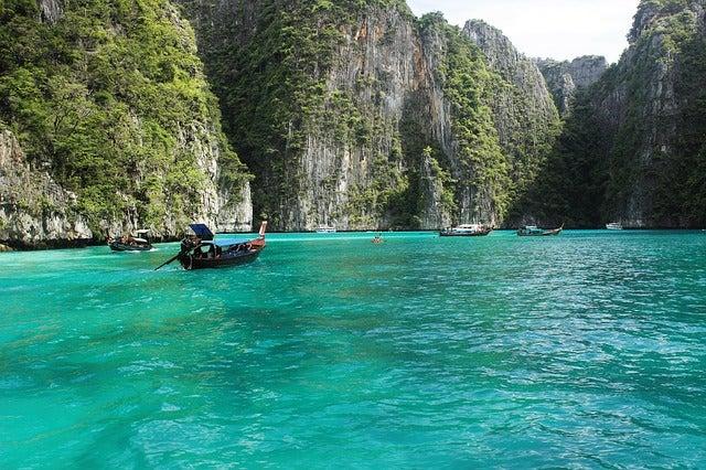Koh Phi Phi en Tailandia