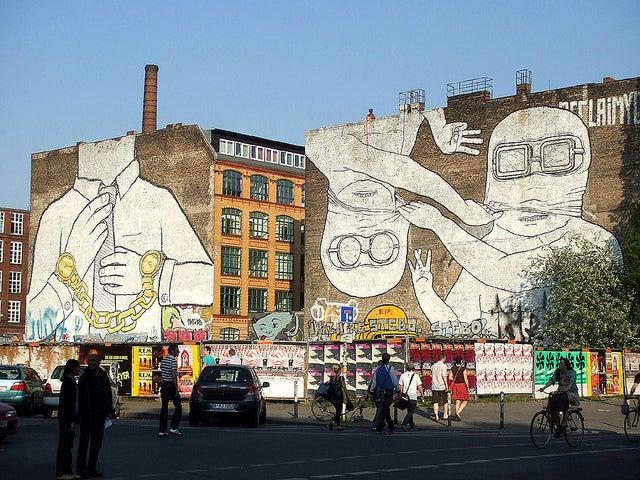 Difruta de Berlín en el barrio de Kreuzberg