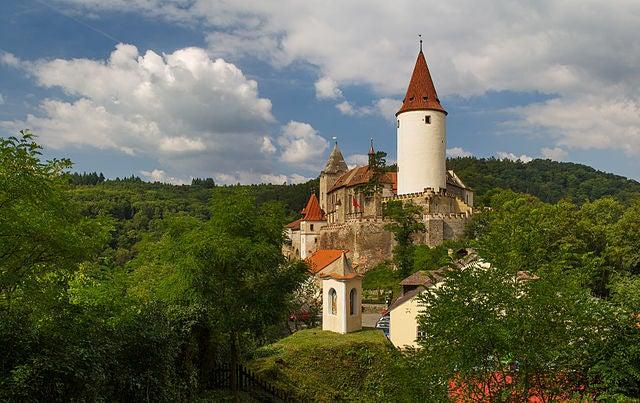 Castillo de Krivoklat en la República Checa