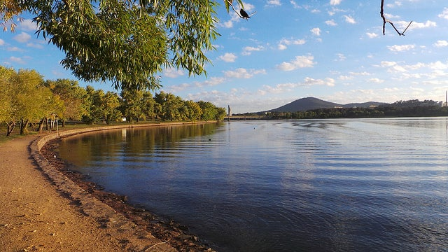 Lago Burley Griffin en Camberra