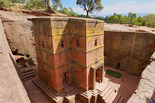 Lalibela en Etiopía