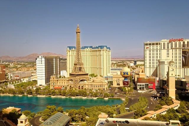 LAs Vegas en la costa oeste de EEUU
