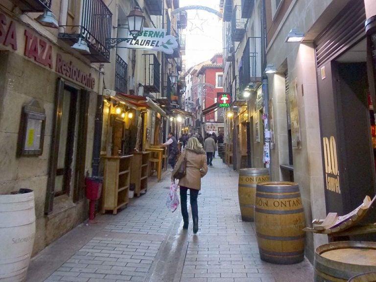 La calle Laurel de Logroño, lugar imprescindible para tapear