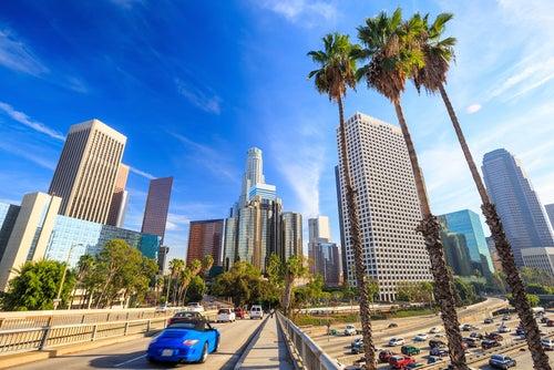 Los Ángeles en la Costa Oeste de EEUU
