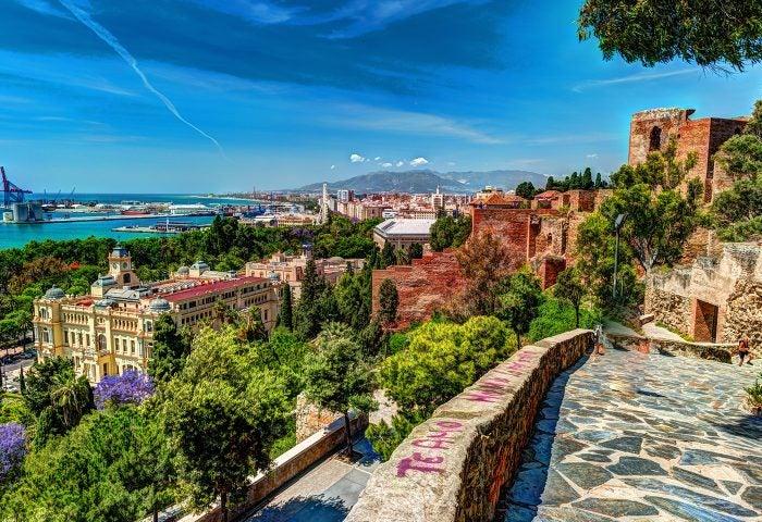Mirador de Gibralfaro en Málaga