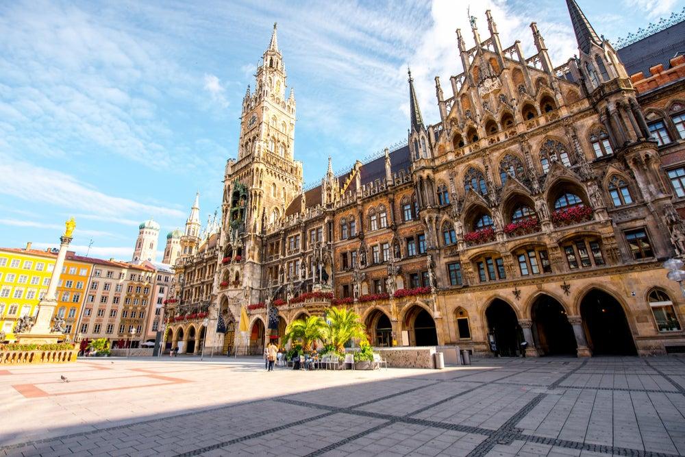 Plazas de Europa, Marienplatz en Múnich