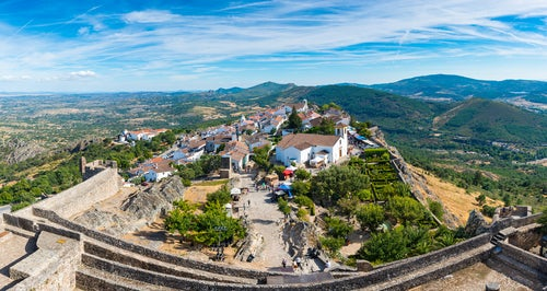 Marvao en Portugal