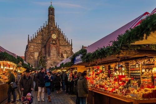 MErcadillo de Navidad en Nuremberg