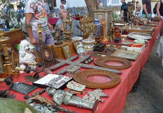 Mercadillo dela calle Feria de Sevilla