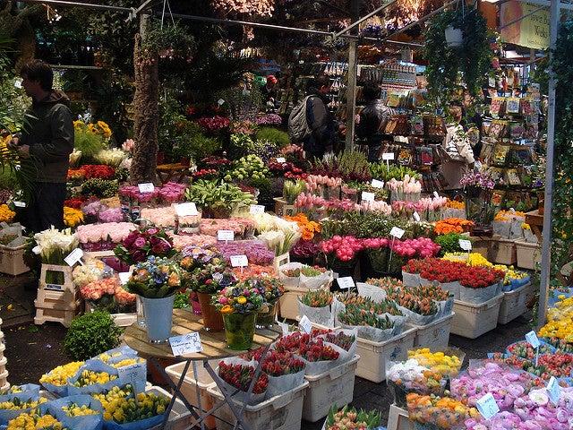 Mercado delas Flores, una d las cosas que ver en Ámsterdam