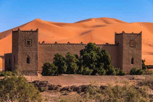 Merzouga, un pueblo en el desierto del Sahara