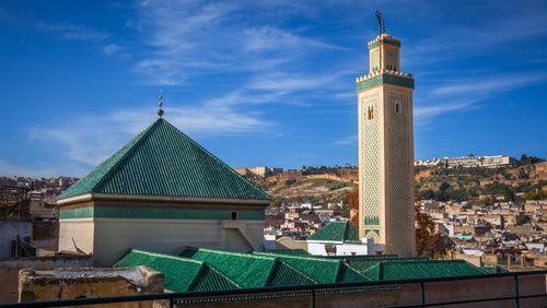 Mezquita Al Kairaouine en Fez, Marruecos