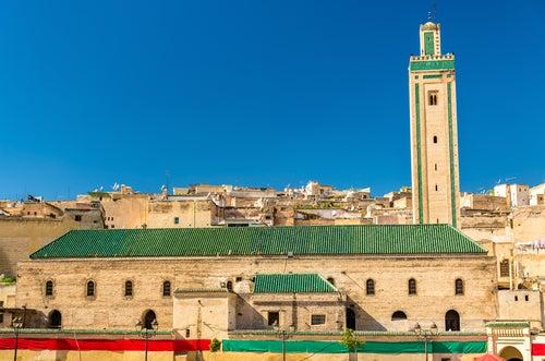 Mezquita Er Rsif en Fez, Marruecos