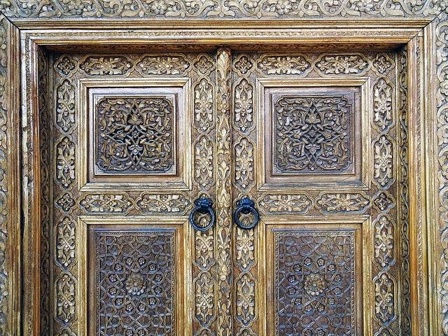 Puerta de la Mezquita Hazrat-Hizr de Samarkanda