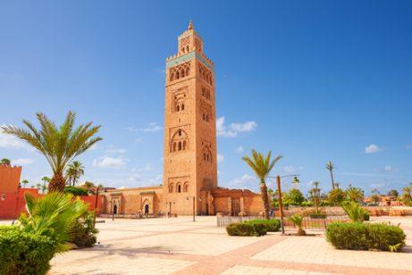 Mezquita Koutubia, una de las cosas que ver en Marrakech