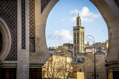 Mezquita Sidi Ahmed Tijani en Fez, Marruecos