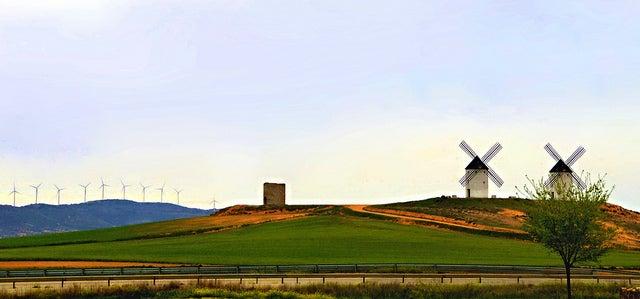Molinos de viento de la Mancha: Tembleque